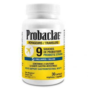 Probiotic for Travelers Probaclac – 30 capsules